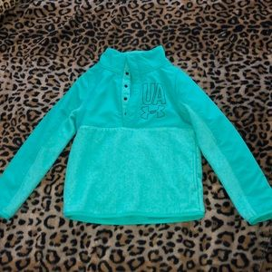 Under Armour turquoise/green ColdGear jacket
